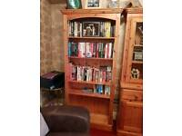 Welsh pine bookcase
