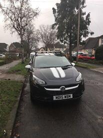 Vauxhall Corsa low insurance back 2015