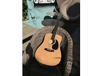 Squier SA-105 Acoustic Dreadnought Guitar