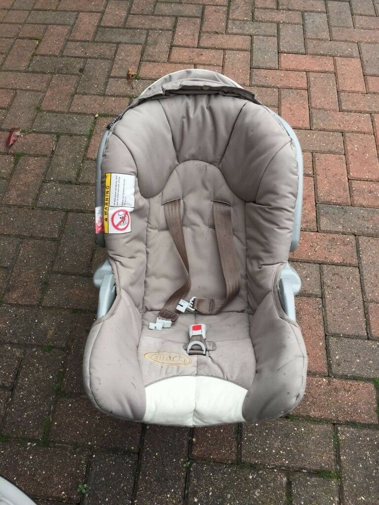 Second Hand Graco Push Chair And Car Seat For Sale In Newark