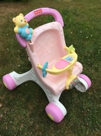 Fisher Price My First Chair Musical Walker