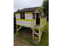 Kids Wooden Playhouse in good condition for sale