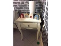 Cream table