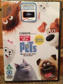 Secret life of pets DVD unopened
