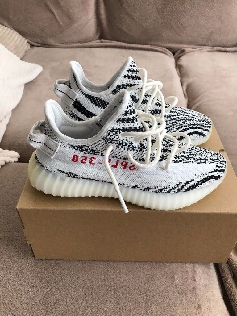 Yeezy Boost 350 Zebra UK9