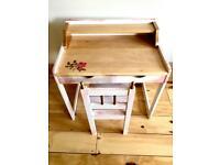 Cute little children's desk & chair