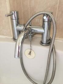 Mixer bath tap and shower