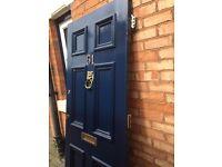 Elegant Old Edwardian Door