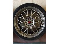Bk racing multiple fit alloys