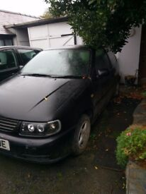 Volkswagen polo mk3. Not running. But fixable.