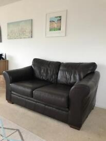 Next Leather Sofa - 2 seater - RRP £800