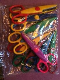 Children's arts & crafts safety scissors