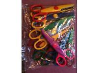 Children's arts & crafts safety scissors