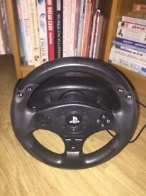Wheel & pedals for gaming - £40