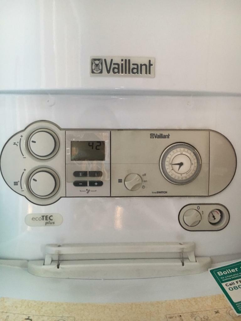 vaillant ecotec plus combi boiler in beckton london. Black Bedroom Furniture Sets. Home Design Ideas