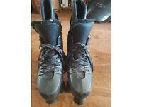 Size 10 Adults Quad boot skates