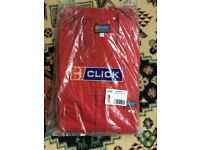 Work overalls by Click, size 48, NEW