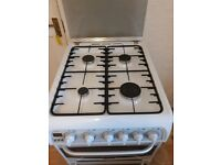CANNON Gas cooker 50 cm. White