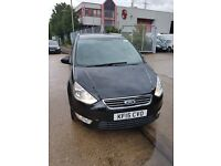 2015 FORD GALAXY ZETEC DIESEL FOR HIRE, 7 SEATER, PCO READY, £160/WEEK
