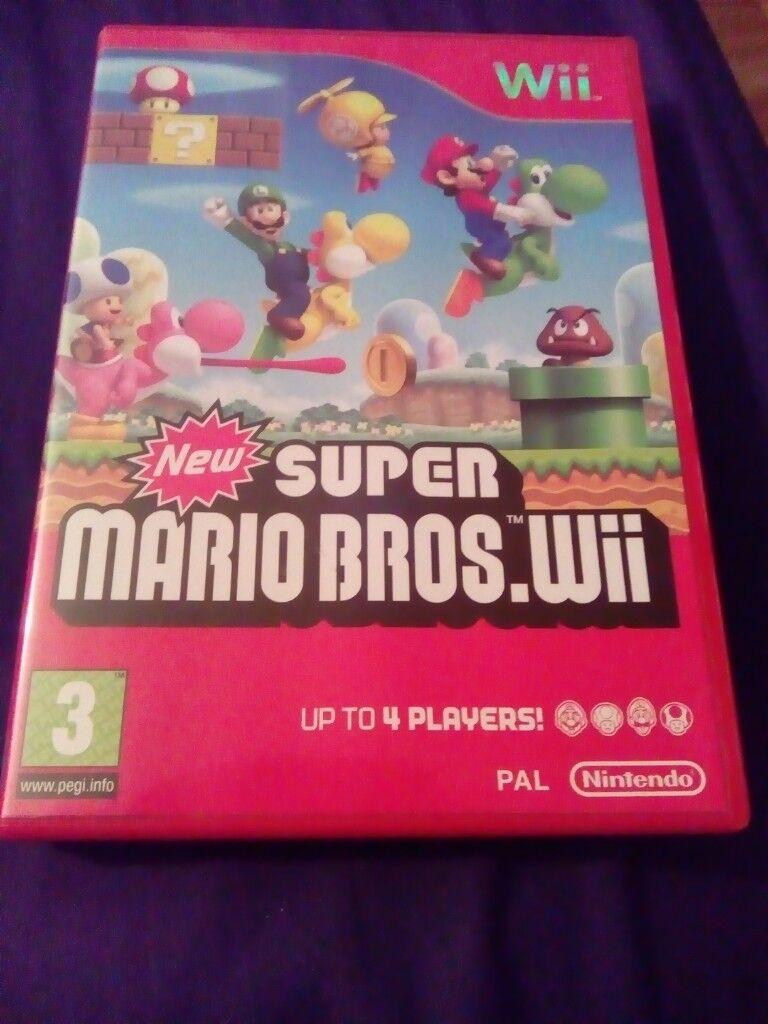Super Mario Christmas Stocking.New Super Mario Bros Wii Game In Selston Nottinghamshire Gumtree