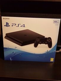 Sony PlayStation 4 PS4 Slim 500GB Console - Black UK PAL