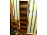 Good quality 6 shelf wooden shelving unit