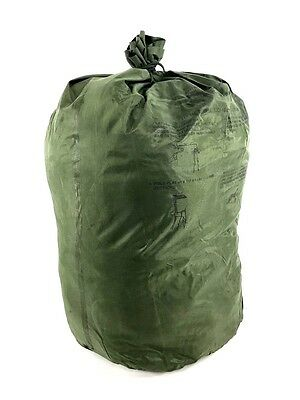 NEW Army Waterproof Clothing Bag, Military Green Wet Weather Laundry Gear Bag