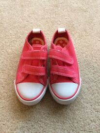 Unused Toddler girl trainers