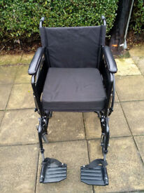 Angel Mobility Self Propelled Wheelchair