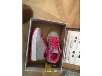 Childrens Wheely Trainers Size