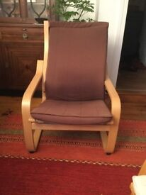 Bentwood Ikea style chair