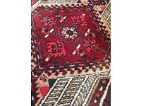 Beautiful Persian red rug