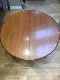 Vintage G Plan extending table and chairs