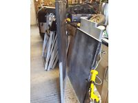 Solid Black Granite kitchen work tops - good condition