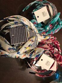 JOBLOT 648 x Headbands joe accesories from TIGER hairdresser market shop retail stock wholesale bulk