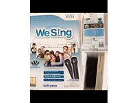 Wii sing mic 🎤