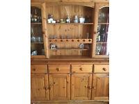 Pine living room dresser