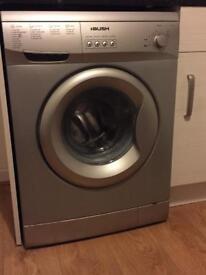 Bush washing machine silver