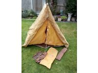 2 PERSON TENT AND EQUIPMENT