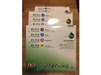 Ink cartridges PI-711 ( Epson T0712)