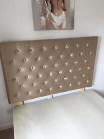 Divan Bed with Next Headboard (2 Drawer Storage)