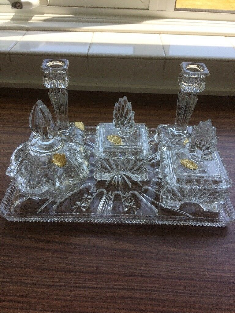 Lead Crystal Dressing Table Set | in Chalfont St Giles ...