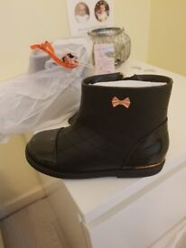 Baker by Ted baker boots, size 11 young girls brand new