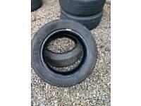 X2 185 55 15 part worn tyres.