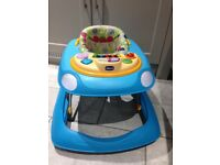 Baby walker with removeable play keyboard - great condition