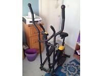 Everlast 2 in 1 Cross Trainer / Exercise Bike
