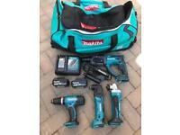 NEW Makita 18Volt Tool set