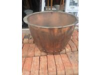 Original Victorian copper bolier (polished)