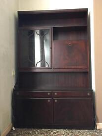 FREE Dark wood DRESSER cabinet - furniture