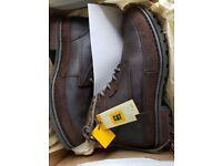 Mens Caterpillar Oatman boots size 9 UK.Brand new .
